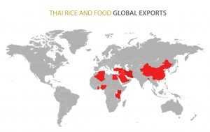 Thai Rice and Food Global Exports